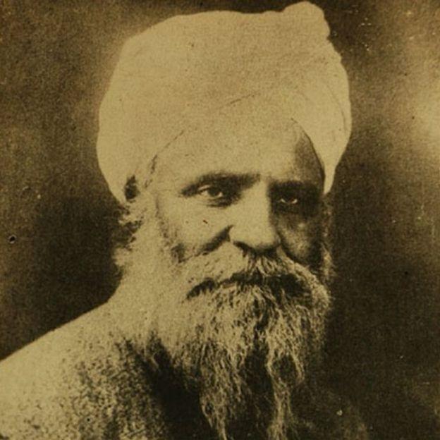 भगत सिंह के पिता सरदार किशन सिंह (तस्वीर चमनलाल ने उपलब्ध करवाई है)