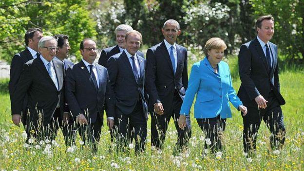 саммит G7 в 2915 году