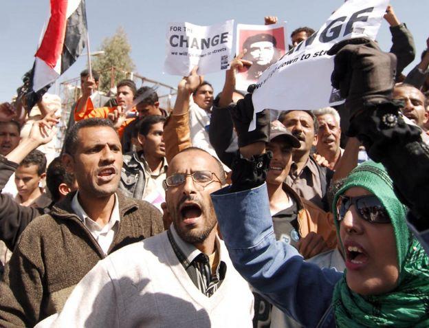 بهار عربی در یمن