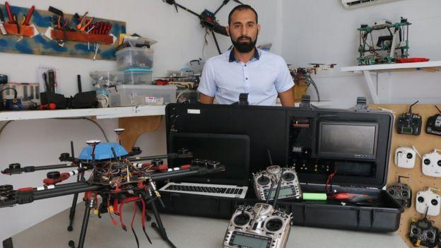Marouane Jebbar, directeur général de Côte d'Ivoire Drone