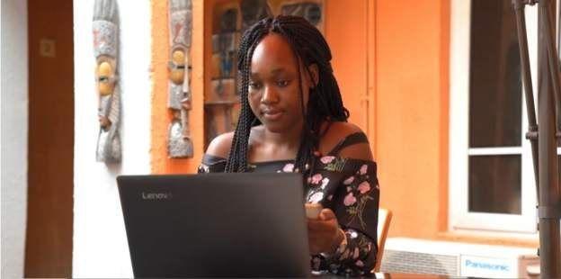 L'entrepreneure ivoirienne Charlette N'Guessan