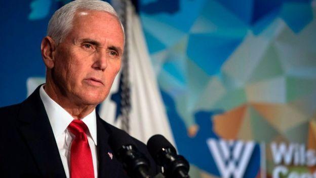 Phó Tổng thống Mike Pence: 'Mỹ ủng hộ người biểu tình Hong Kong'