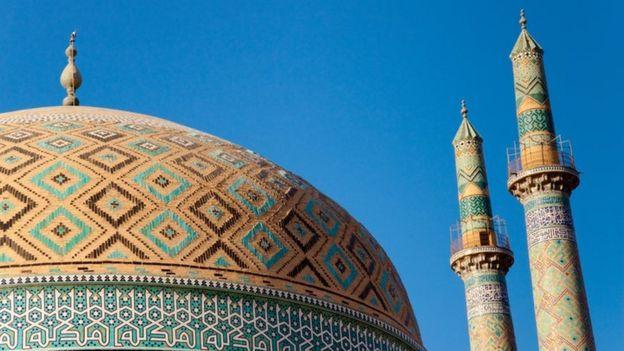 Templo de Yazd, en Irán