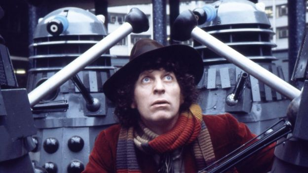 Tom Baker as The Doctor