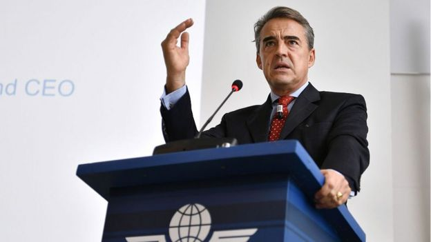 Alexandre de Juniac, director general de la IATA