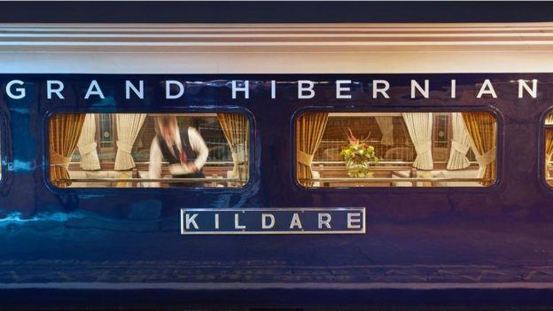 El diseño del Belmond Grand Hibernian combina los toques modernos con elegancia clásica.