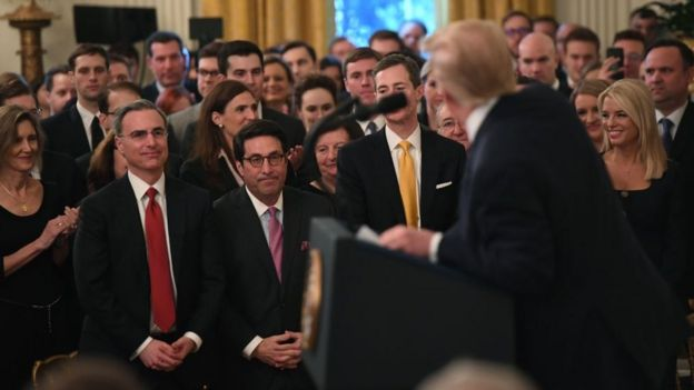 Mr Trump thanked his lawyers and Republican lawmakers