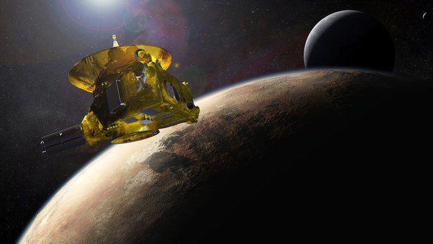 Pluto, artist's impression