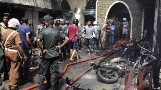 श्रीलंका धमाका