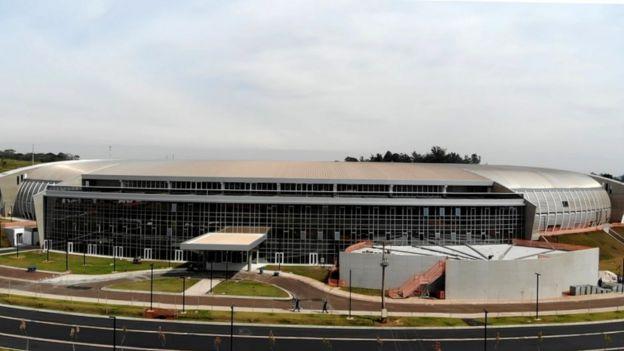 Prédio do Sirius, construído em área rural de Campinas, no interior de São Paulo
