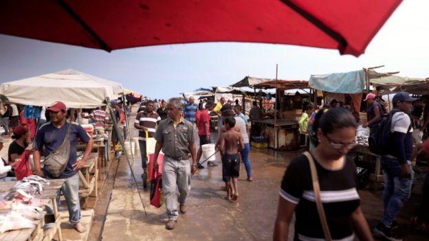 Mercado de Los Cocos, na Venezuela