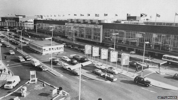 London Airport terminals 1965
