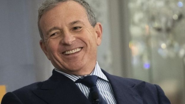 Bob Iger, chairman and chief executive officer of The Walt Disney Company