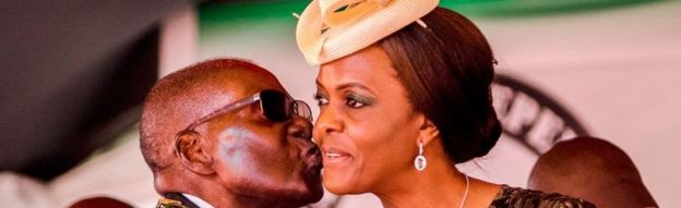 Zimbabwe's President Robert Mugabe, 93, has been urged by his wife to name his successor in order to end divisions over who the next leader will be.