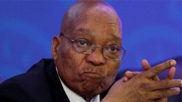 Jacob Zuma aurait rejeté dimanche les appels de leaders de l'ANC pour sa démission de la présidence sud-africaine.