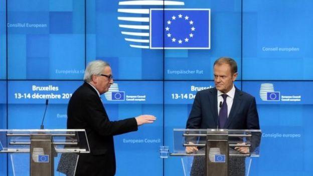 Các nhà lãnh đạo EU thể hiện sự thất vọng với cuộc bỏ phiếu thứ Ba.