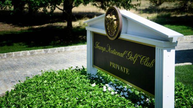 club de golf de Trump.