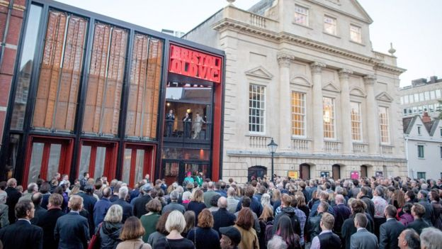 Bristol Old Vic opening