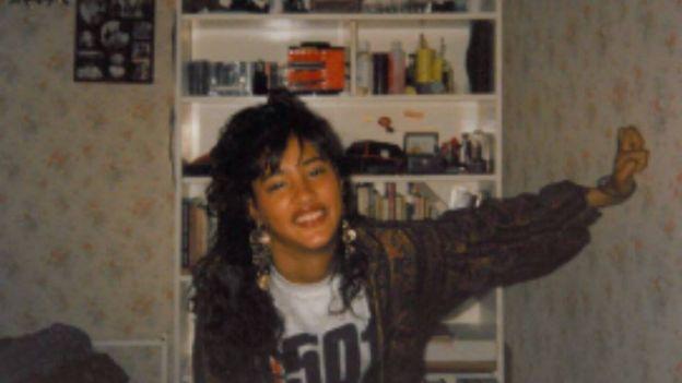 Kuli as a teenager