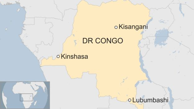 Map DR Congo presidential election: Outcry as Tshisekedi named winner 105128339 drcongo9760118