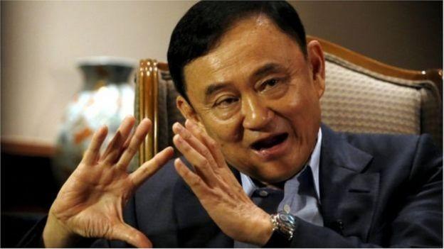 Nhà lãnh đạo bị lật đổ Thaksin Shinawatra
