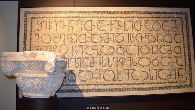Artefatos do Museu Terra Santa de Jerusalém