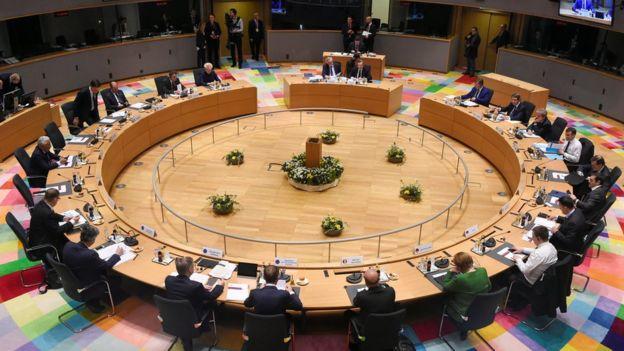 EU leaders talks at summit