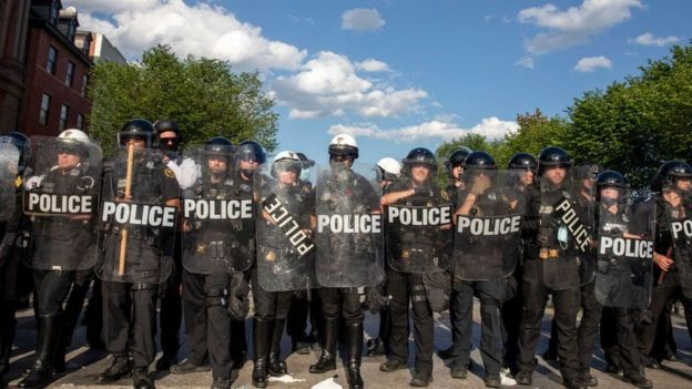 Policía de EE.UU.