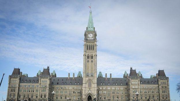 Parlamento canadiense en Ottawa