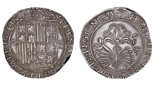 Monedas del Potosí o real de a 8.