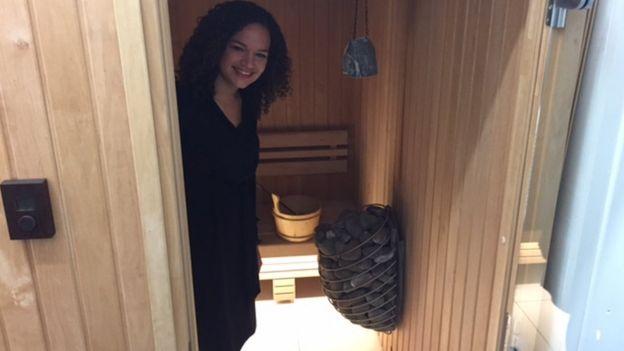 Sauna en Transferwise