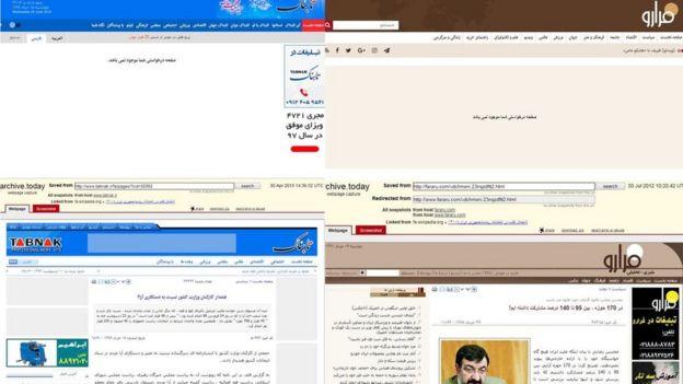 سایت های فرارو و تابناک