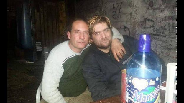 Los gemelos Jorge Elkin y Ricardo David Luján.