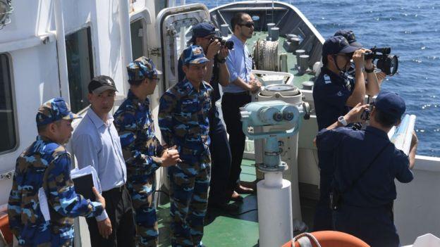 Hải quân Việt Nam tập trận chung với hải quân Nhật Bản năm 2017