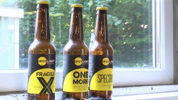 Bottles of beers