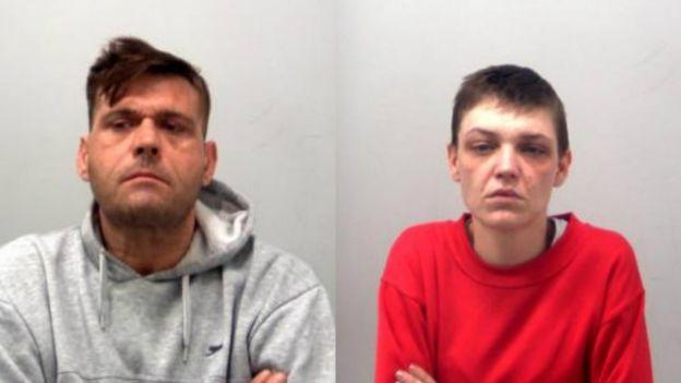 Stuart Pearson and Kelly King custody shots