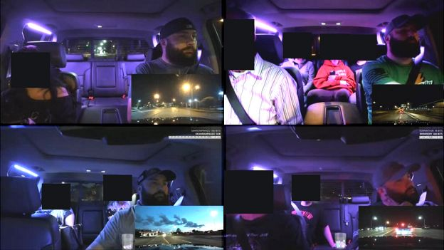 St Louis Uber driver live-streamed hundreds of passengers