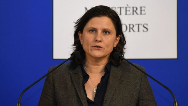 French Sports Minister Roxana Maracineanu