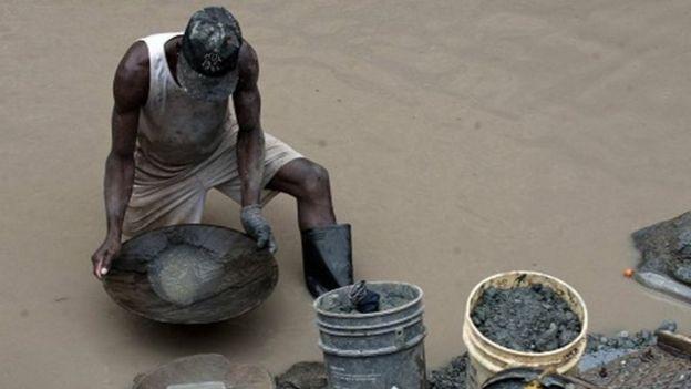 Las redes de minería ilegal en Sudamérica afectan sobretodo a los países dentro de la región amazónica.