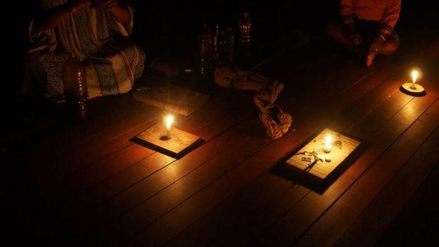 Ceremonia de ayahuasca