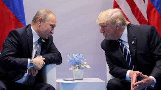 ترامپ و پوتین در دیدار سال گذشته
