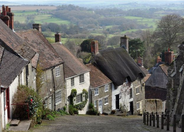 Where are England's steepest streets? - BBC News