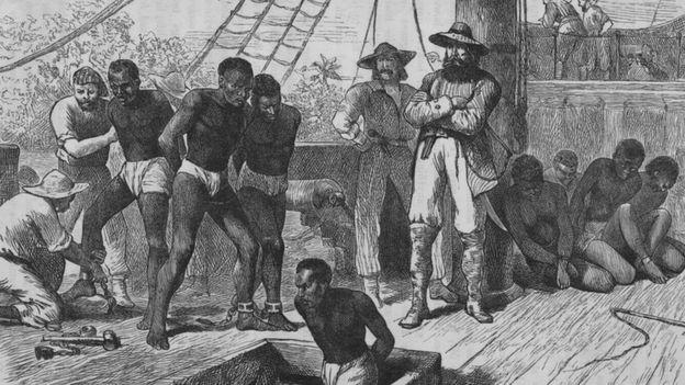 Navio de transporte de escravos