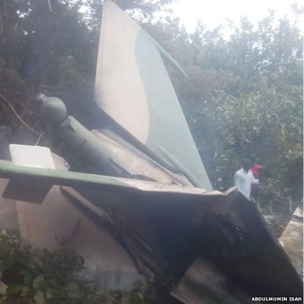 Military jet accident
