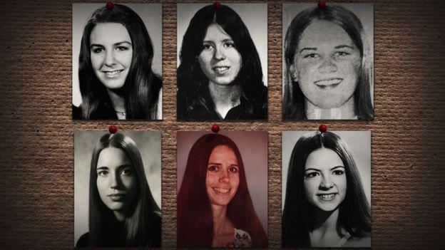 Varias de las víctimas de Ted Bundy