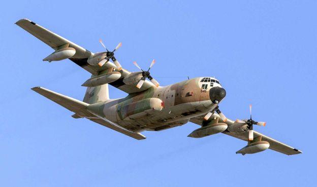 Avião militar israelense