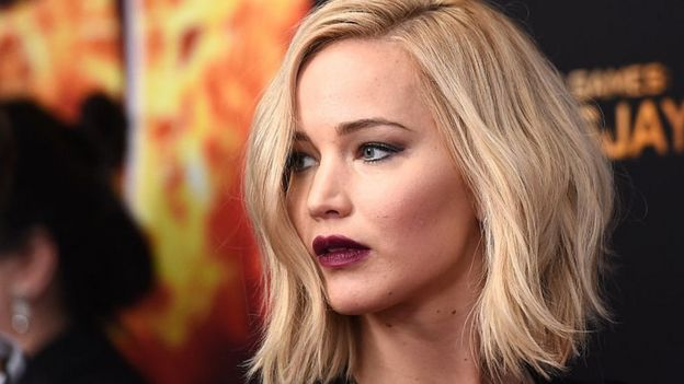 Jennifer Lawrence protagonista de The hunger games