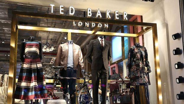 Ted Baker storefront