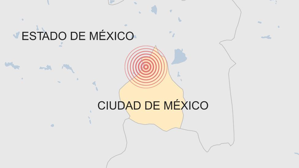 Ubicación del sismo