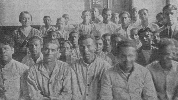 Frida com presos